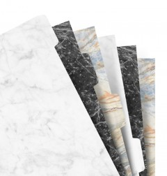 Filofax Notebook Marble Indices