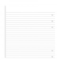 Ruled A4 Notepad Refill