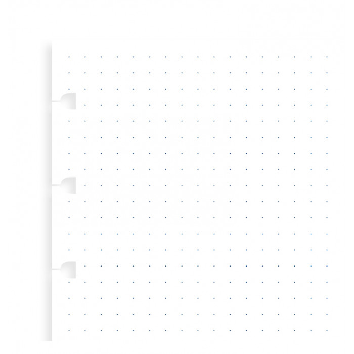Filofax Notebook Dotted Journal Refill